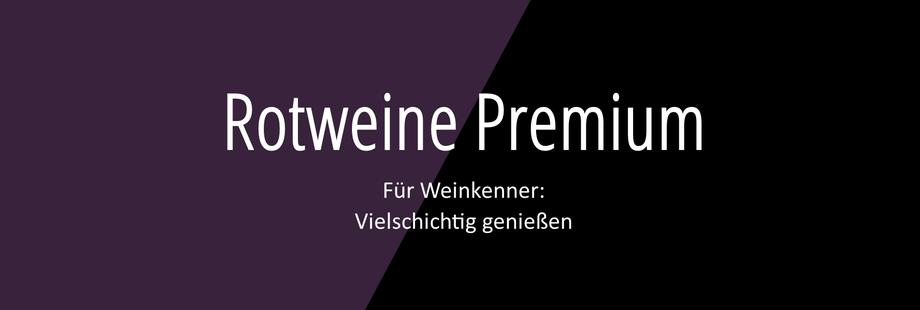 Weingut Hufnagel Neckenmarkt, Rotweine Premium, für Weinkenner vielschichtig genießen