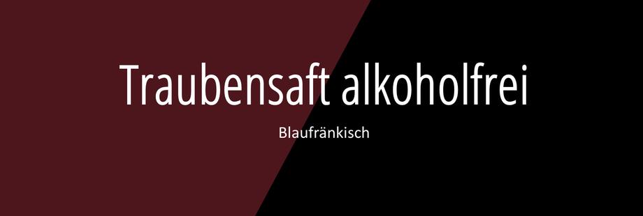 Weingut Hufnagel Neckenmarkt, Traubensaft Blaufränkisch