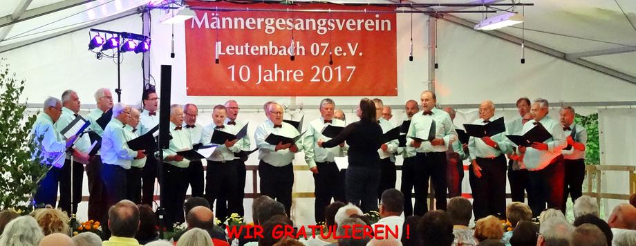 MGV Breuningsweiler in der Landesschau 2013