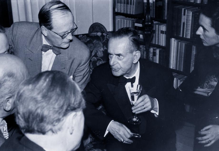 Hamburg  und Thomas Mann: Beim Aperitif im Hause Christian Wegners