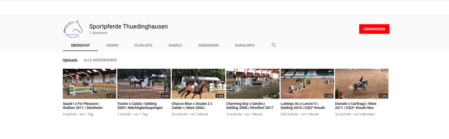 Foto: Unser neuer Youtube Channel