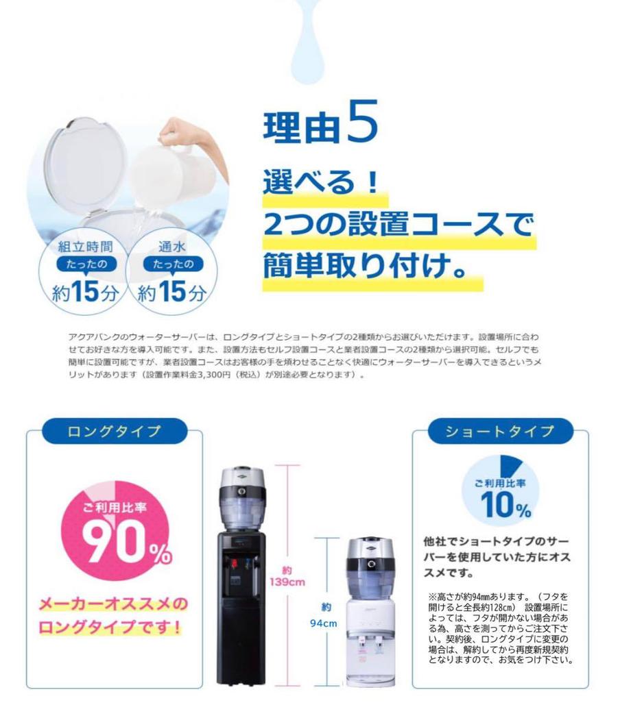 Aquabank Water server アクアバンク ウォーターサーバー
