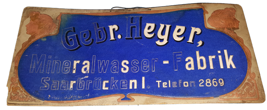 Brauerei Saarbrücken Gebr. Heyer - Privatsammlung Alexander Brachmann
