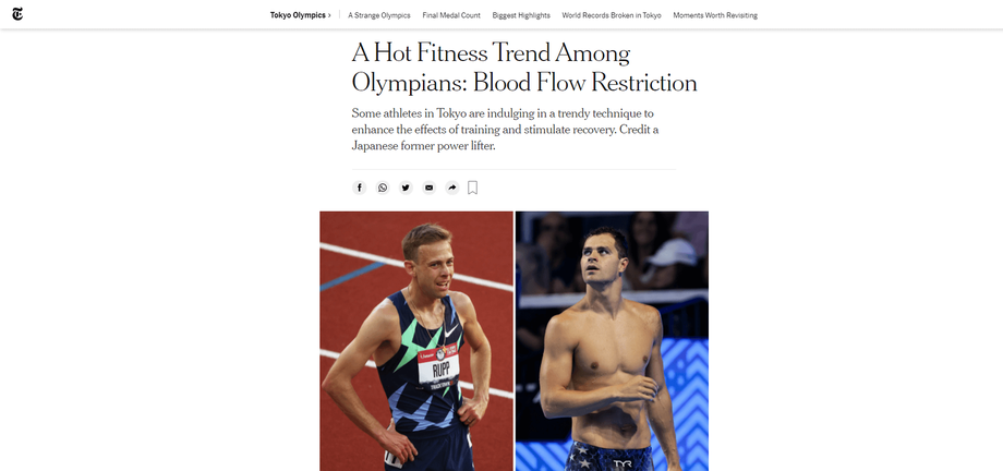 the new york times 加圧トレーニング
