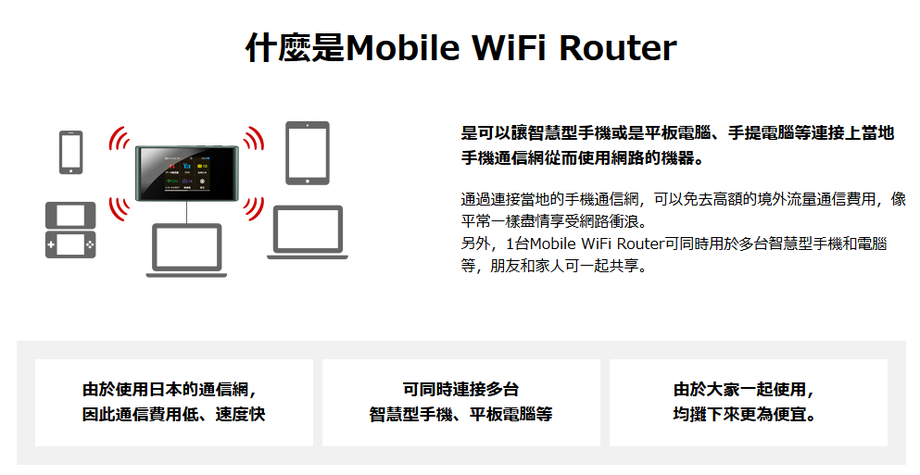 日本wifi租借