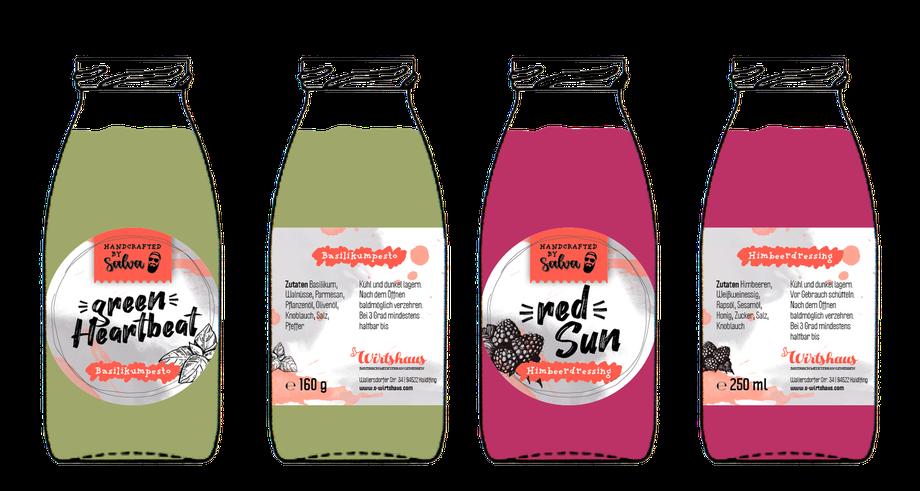 Etiketten Produktdesign Grafikdesign Straubing Werbeagentur Aufkleber