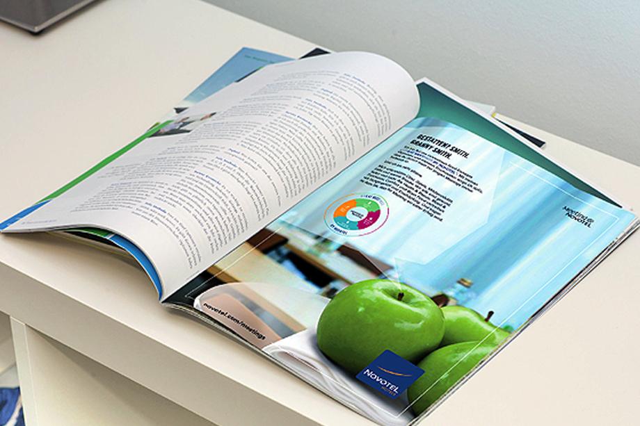 Anzeige Meeting-Service | Novotel | Auftraggeber: Chromedia GmbH