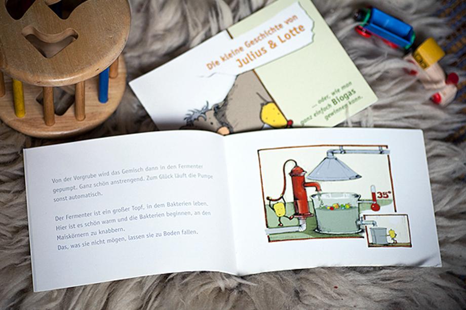 Biogas-Comic | Biogas Fachverband e.V. | Auftraggeber: Biogas Fachverband e.V.