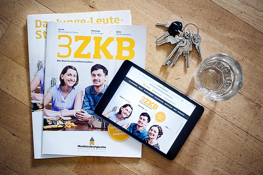 crossmediale Kampagne »3ZKB« für die Mecklenburgische Versicherungsgruppe im Auftrag der Kochstrasse – Agentur für Marken GmbH