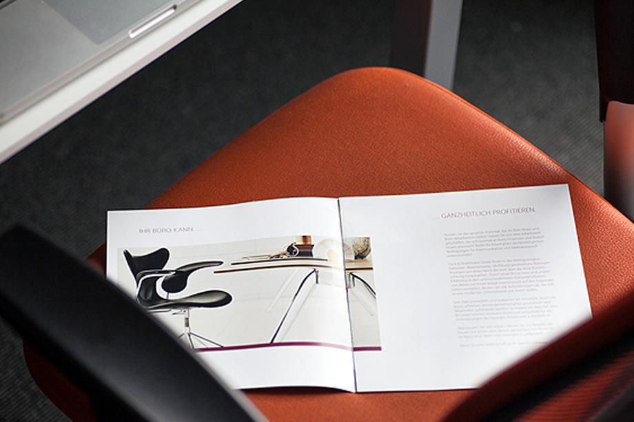 Imagebroschüre | Dyck & Stratemann GmbH| Auftraggeber: syntese Design und Kommunikation GmbH