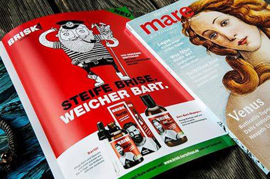 Imageanzeige BRISK | Lornamed GmbH | Auftraggeber: Kochstrasse – Agentur für Marken GmbH