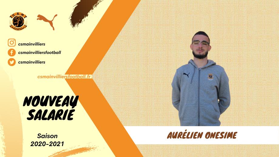 CS Mainvilliers Football Aurélien Onésime