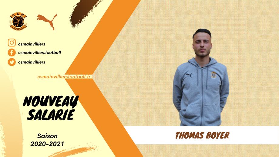 CS Mainvilliers Football Thomas Boyer