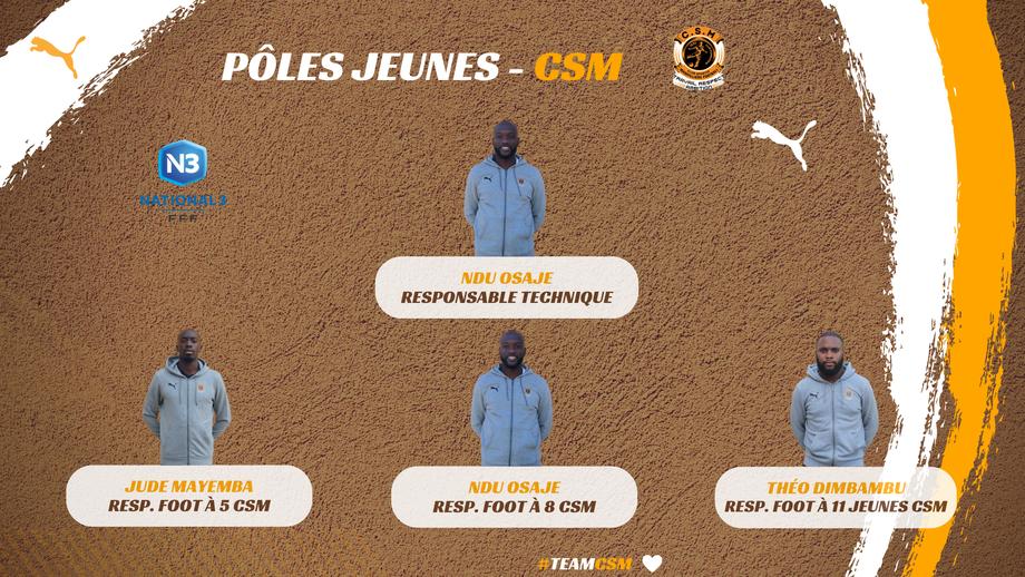 CS Mainvilliers Football - Équipe technique