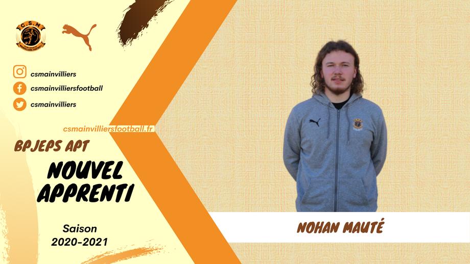CS Mainvilliers Football Nohan Mauté