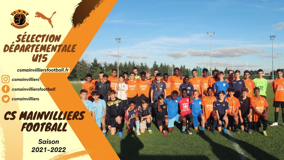 CS Mainvilliers Football - U16 R1 - Sélection Départementale