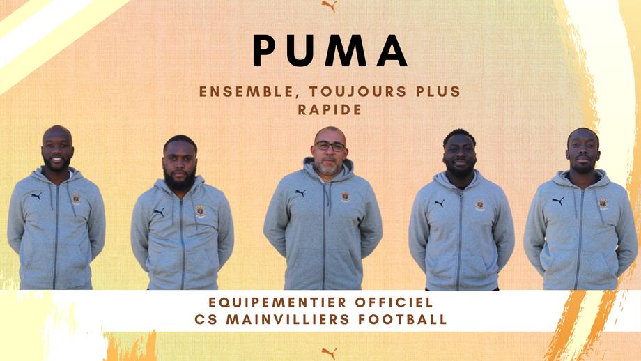 CS Mainvilliers Football puma