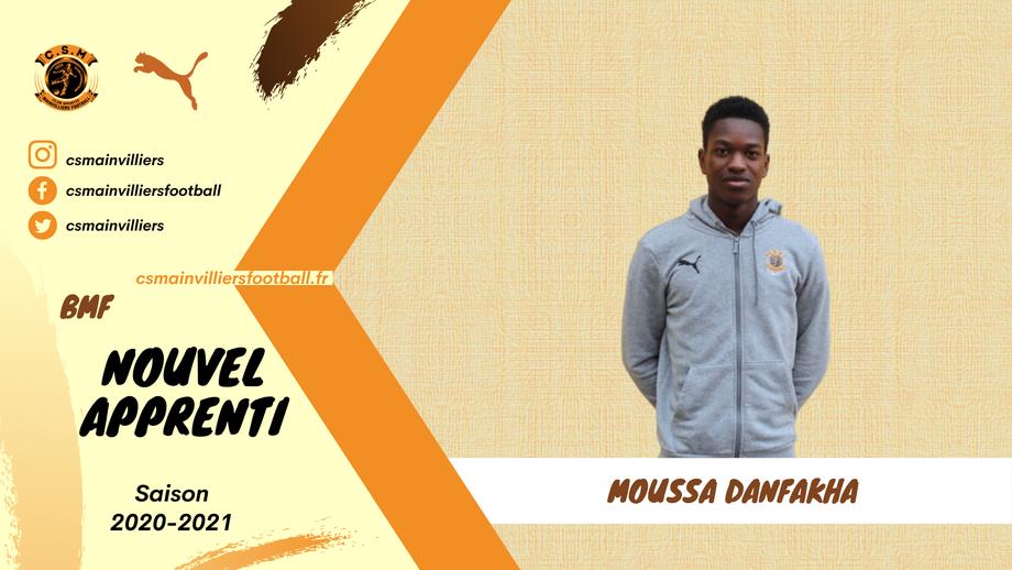 CS Mainvilliers Football Moussa