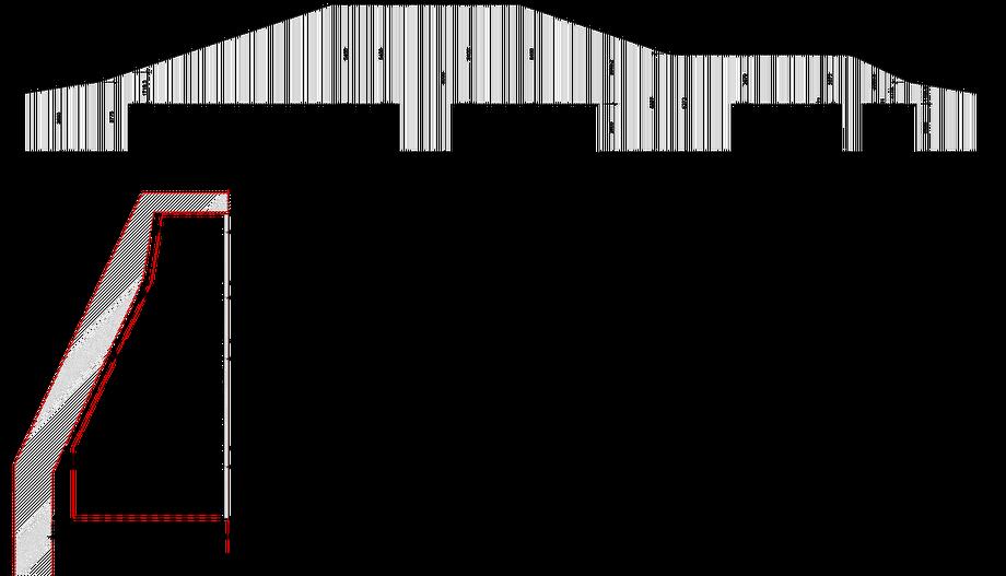 IM-TOP 08 Lounge – Detail Fadenvorhang