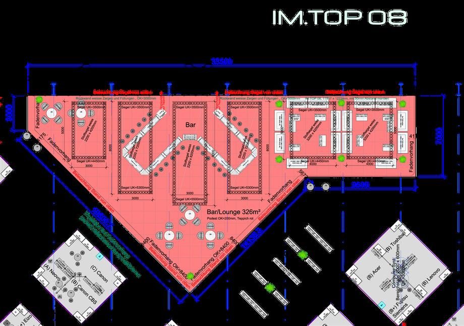 IM-TOP 08 Grundriss Loungebereich