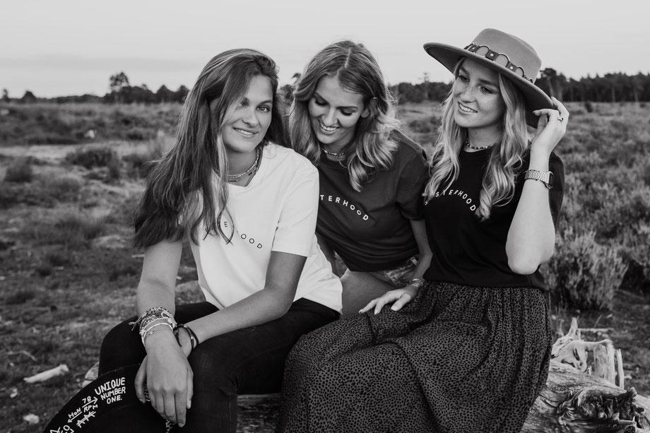 Shirtsbychantal, de nieuwe t shirtlijn van chantal vermeer,  verkrijgbaar bij PowerVrouwen