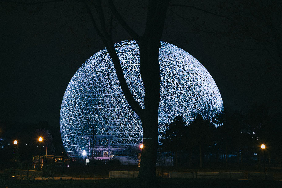 La Biosphère-Museum in Montreal