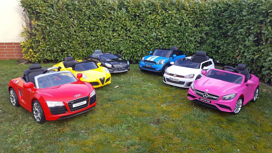Audi R8/Audi Q7/Mercedes S63/Mini Cooper/Golf GTI/VW Bulli/T1/Ford Ranger/Kinderauto/Kinder Elektroauto/Kinderautos/Kinder Elektroautos/Kinder Fahrzeuge/