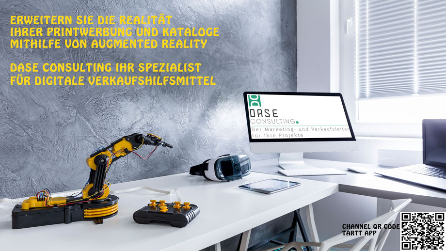DASE Consulting Digitale Verkaufshilfsmittel Augmented Reality