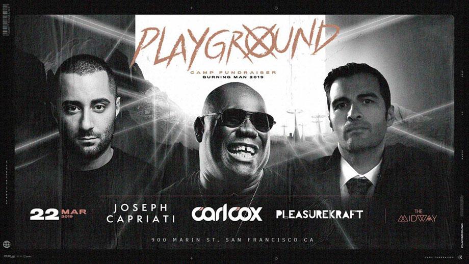 Carl Cox @ Playground