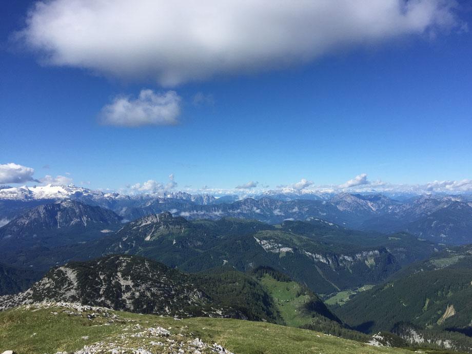 Dachstein, Gosaukamm, Kalmberge, Alpen