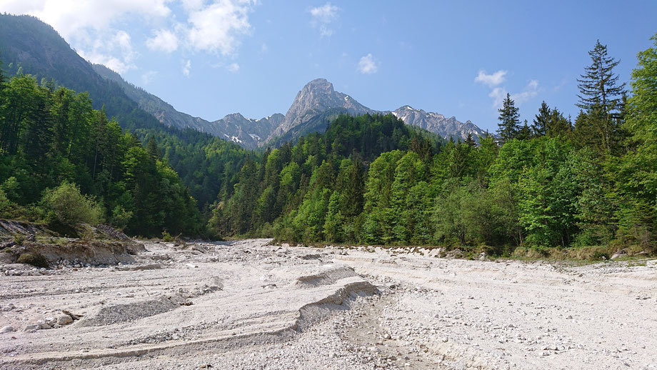 Weissenbachtal, Bachbett