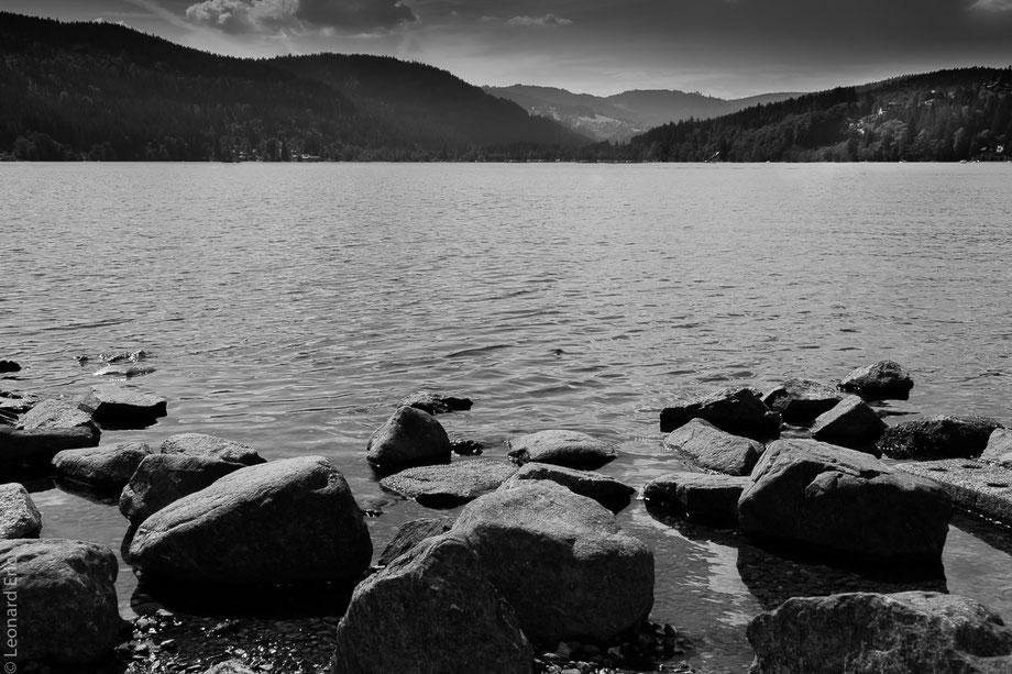 Le plaisir photographique. Eric Léonard. Photos/Paysage/Un lac en Forêt Noire