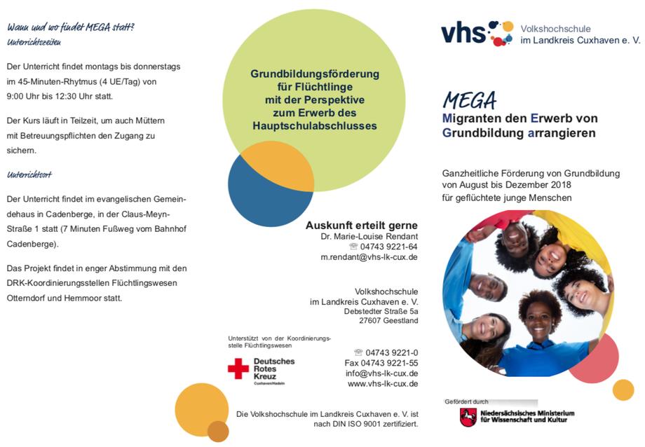 Mega Kurs in Cadenberge zum Erwerb des Hauptschulabschlusses
