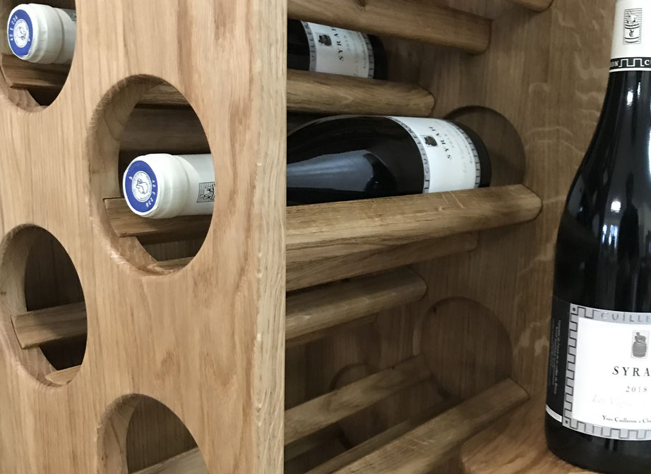 Weinregal Eiche, Weinliebhaber, Sommelier, luxury wine rack oak, wine lovers