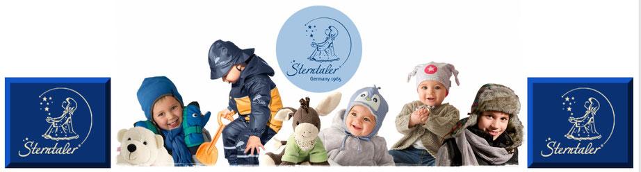 Sterntaler Kopfbedeckung Wintermützen für Babys und Girls bei Wandls Gwandl