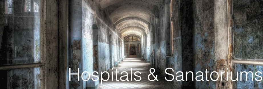 Hospitals and Sanatoriums