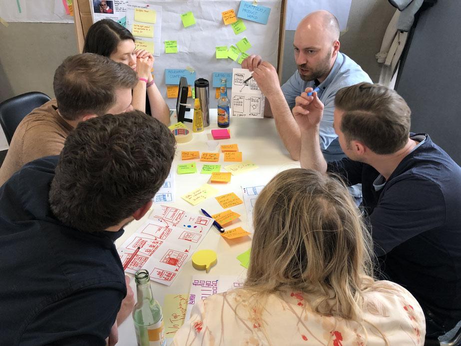 Mit unserer Hilfe entwickelt Dräger in drei Tagen ein Konzept für den Relaunch der globalen Corporate Website.