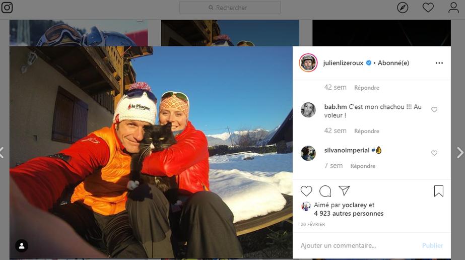 Lizeroux - ski - skieur - slalom - Instagram - Hashtag - publication