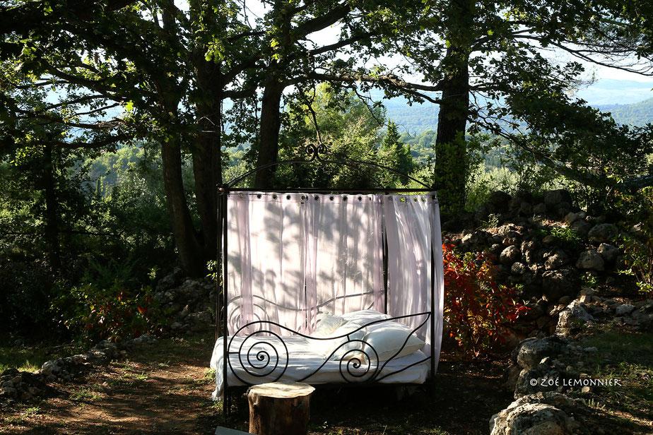 photographie de locations saisonnières à Cotignac Haut Var