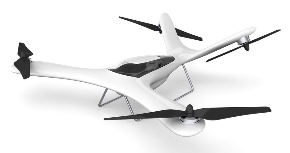 A drone that looks and flies like an airplane - Spirit V-tail quad