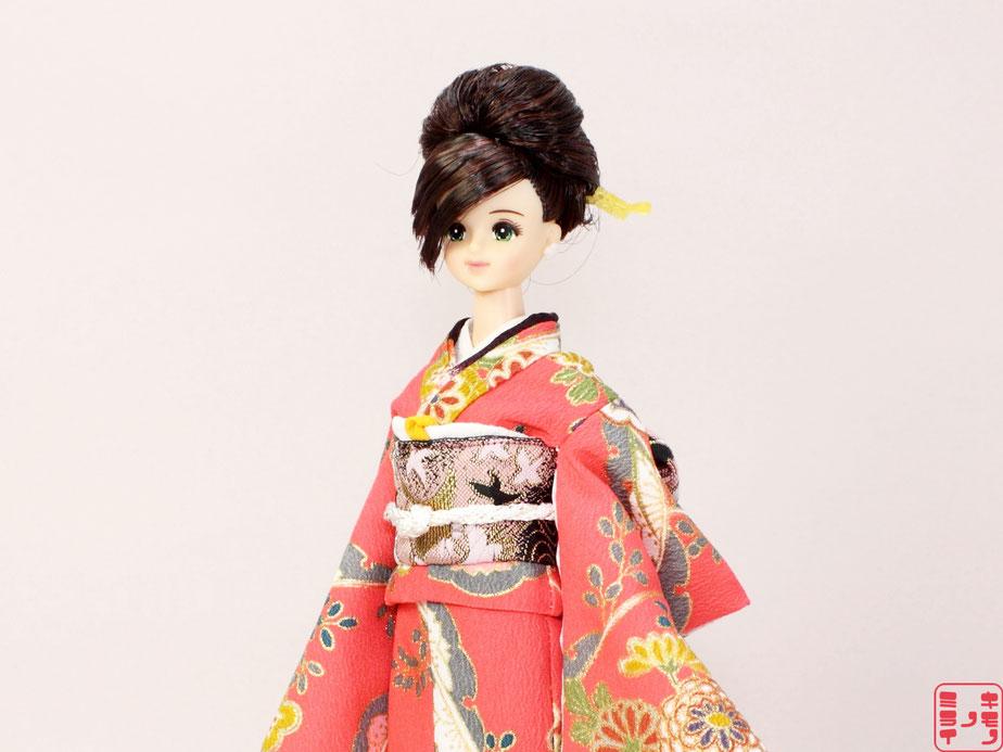 ジェニー 振袖、momoko 振袖,Pullip kimono、プーリップ 着物