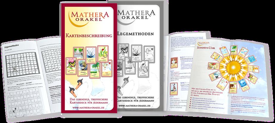 Hilfen zum Kartenlegen lernen mit Orakelkarten von Mathera