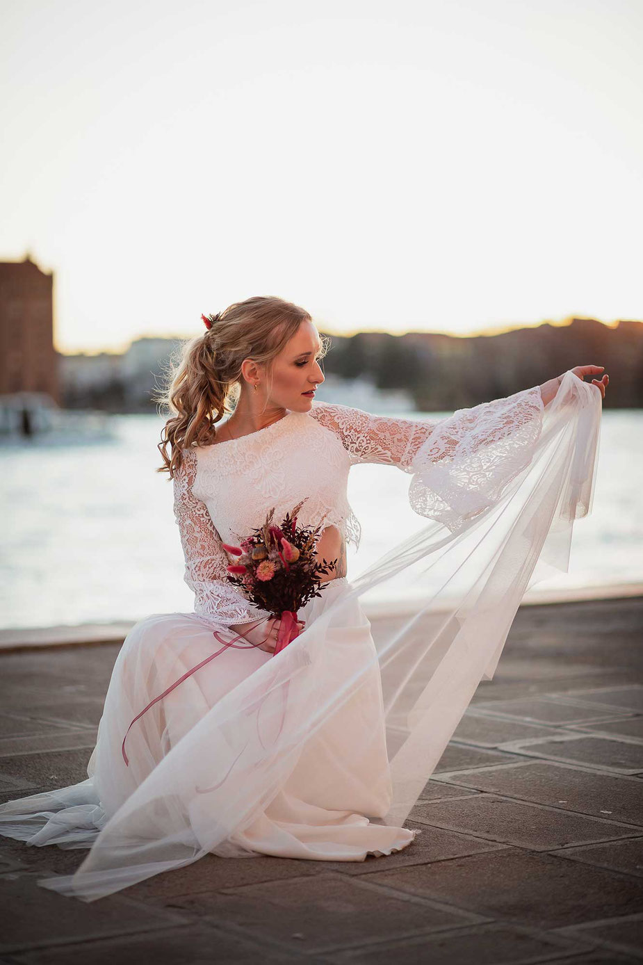 Hochzeitskleid Laura Dometzki