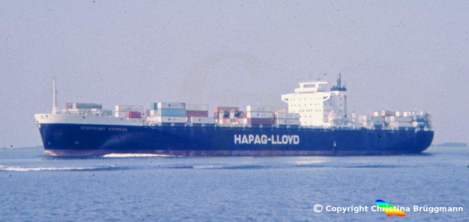 Hapag-Lloyd Containerschiff STUTTGART EXPRESS 1983