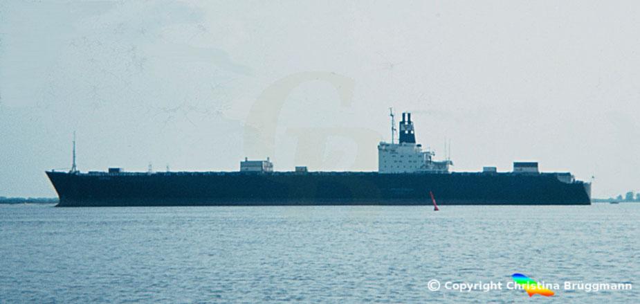 """Containerschiff """"KORRIGAN"""" 1983"""