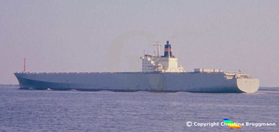 """Nedlloyd Containerschiff 3. Generation """"NEDLLOYD DELFT"""" 1985"""
