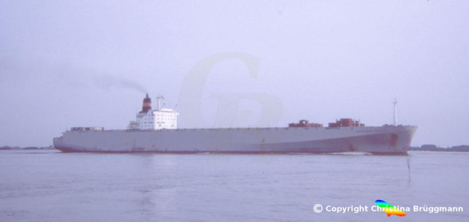Nedlloyd Containerschiff 3. Generation NEDLLOYD DEJIMA 1983
