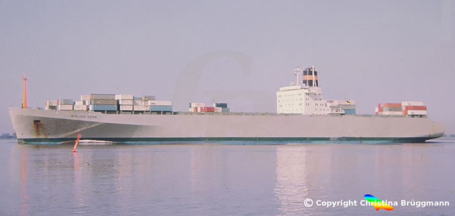 Nedlloyd Containerschiff NEDLLOYD HOORN 1983