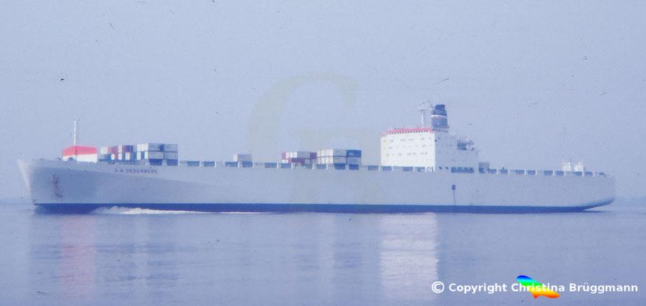 Kühlcontainerschiff S.A. SEDERBERG 1983