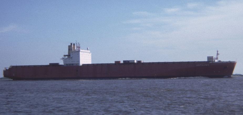"Containerschiff der 3. Generation ""ORTELIUS"" 1986"